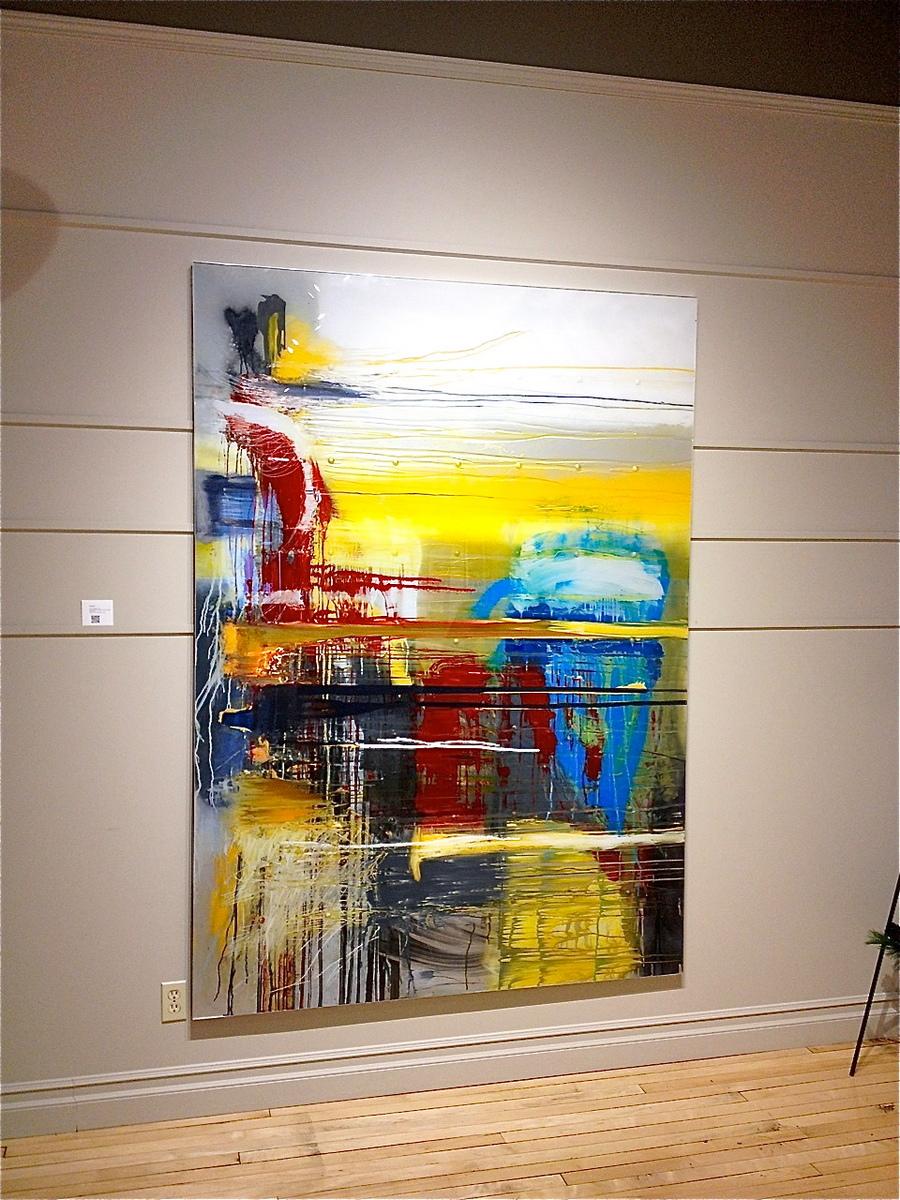 Gallery Install 5′ x 7′