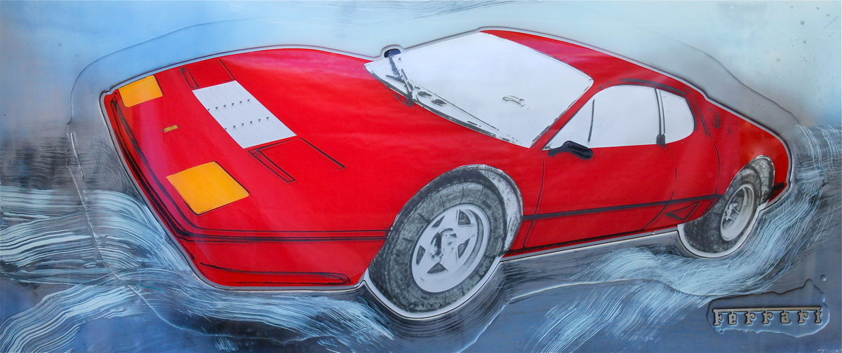 Ferrari BB512 – 26″ x 60″