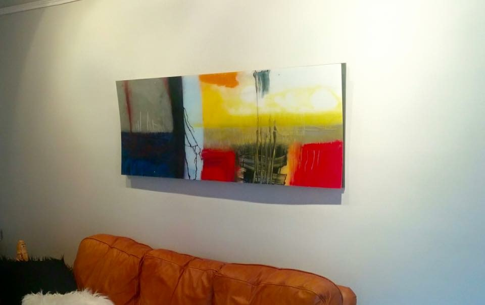 Descending 24″ x 60″ Installed at client residence